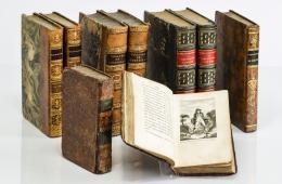 4  -  [Libros decorativos en francés, siglo XIX]