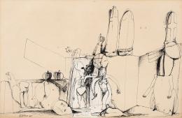 """72  -  <p><span class=""""description"""">Pedro Alcántara: Sin título, 1965.</span></p>"""
