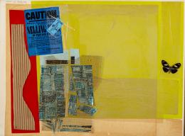 "46  -  <p><span class=""description"">Hernán Díaz: Caution, 1970.</span></p>"