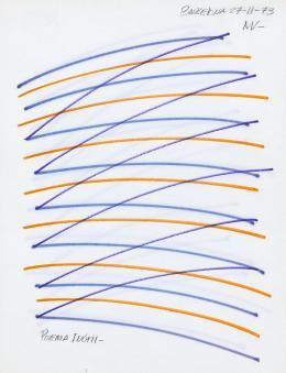 "10  -  <p><span class=""description"">Manolo Vellojín: Poema inútil, 1973.</span></p>"