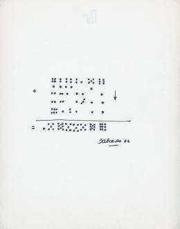 """14  -  <p><span class=""""description"""">Bernardo Salcedo: [Las sumas], 1972.</span></p>"""
