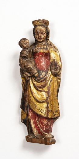 """36  -  <p><span class=""""description"""">Virgen con el niño, siglo XVII</span></p>"""