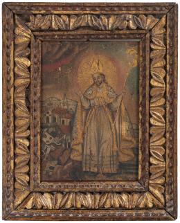 "43  -  <p><span class=""description"">San Emigdio, siglo XVIII. </span></p>"