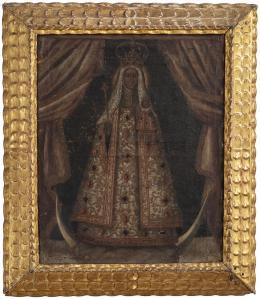 "44  -  <p><span class=""description"">Virgen de Guadalupe de Extremadura, siglo XVII</span></p>"