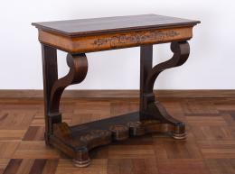 "6  -  <p><span class=""description"">Consola Carlos X, ca. 1830</span></p>"