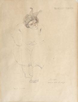 """62  -  <p><span class=""""description"""">José Luis Cuevas. Teatro pánico, sin fecha</span></p>"""