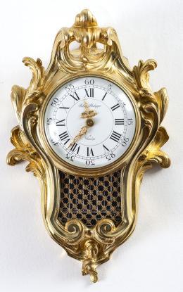 "86  -  <p><span class=""description"">Reloj de pared estilo Luis XV, 1969</span></p>"