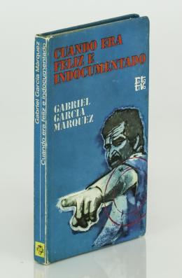 "108  -  <p><span class=""description"">Gracía Márquez, Gabriel. Cuando era feliz e indocumentado</span></p>"