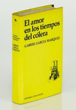 """110  -  <p><span class=""""description"""">García Márquez, Gabriel. El amor en los tiempos del cólera [Primera edición]</span></p>"""