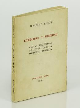 """115  -  <p><span class=""""description"""">Tellez, Hernando.  [Roda] Literatura y sociedad. Glosas precedida de notas sobre la conciencia burguesa</span></p>"""