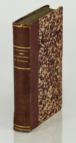 """107  -  <p><span class=""""description"""">Carrasquilla, Tomás. La Marquesa de Yolombó. Novela del tiempo de la colonia</span></p>"""