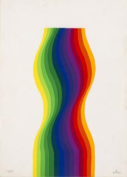 """2  -  <p><span class=""""description"""">Julio Le Parc: Ed. La Nuova Foglio, Macerata, Italia [1977].</span></p>"""
