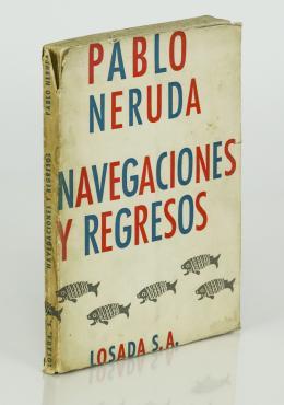 """518  -  <p><span class=""""description"""">Neruda, Pablo. Navegaciones y regresos</span></p>"""