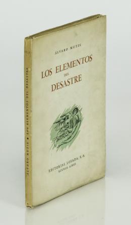 """521  -  <p><span class=""""description"""">Mutis, Álvaro. Los elementos del desastre</span></p>"""