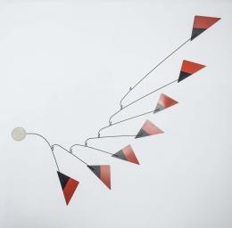 "47  -  <span class=""object_title"">Móvil inspirado en A. Calder</span>"