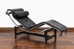 """66  -  <span class=""""object_title"""">Chaise Longue vintage estilo Le Corbusier</span>"""