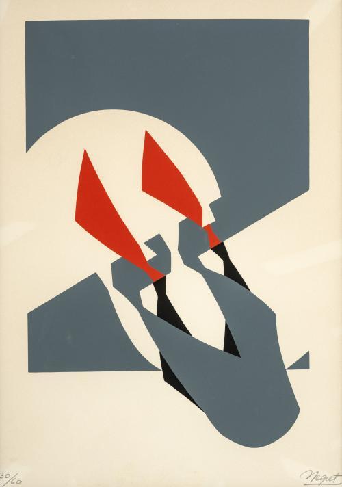 Edgar Negret (Colombia, 1920 - 2012) : Sin título