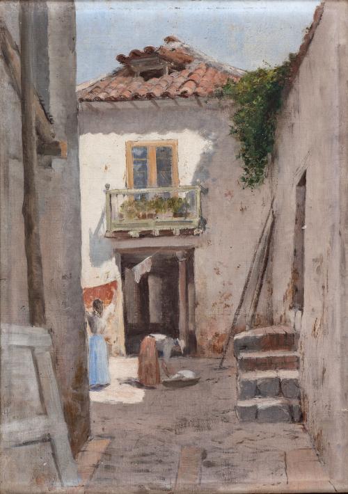 Ricardo Borrero : Paisaje [Candelaria], ca. 1916