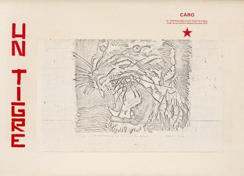 Antonio  Caro : El imperialismo es un tigre de papel, 1973