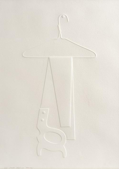 Omar Rayo : Drip Dry, 1969