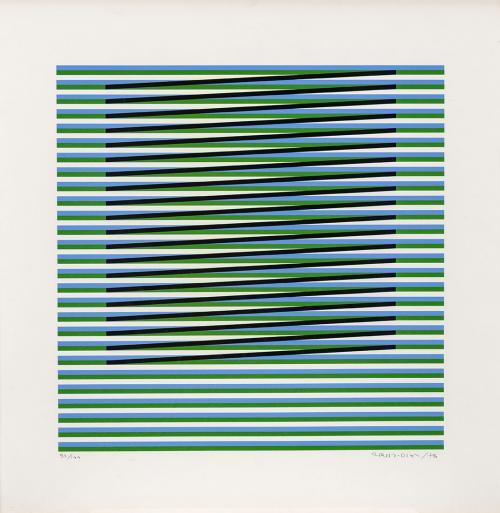 Carlos Cruz-Diez : Sin título, 1976.