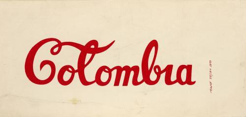 Antonio Caro (Colombia, 1950 - 2021) : Colombia Coca Cola