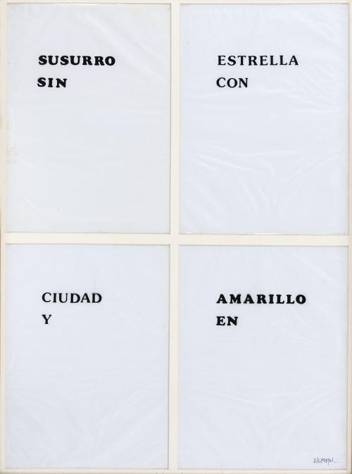 Adolfo Bernal : Sin título, sin fecha