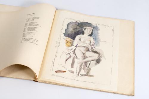 "Octavio Paz y Balthasar Kłossowski de Rola ""Balthus"" : Sigh"