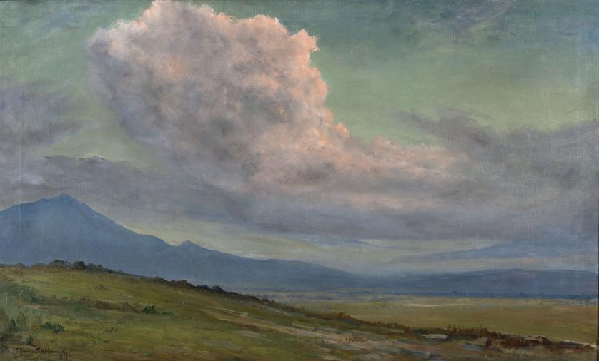 Ricardo Gómez Campuzano : La nube, Torca, 1928