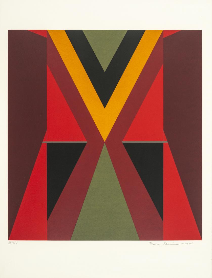 Fanny Sanín (Colombia, 1938) : Sin título