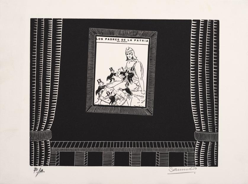Antonio Samudio (Colombia, 1935) : Sin título